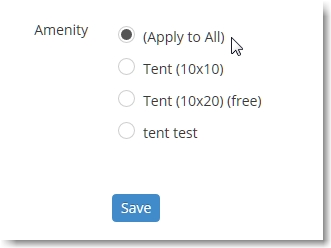 Then select the Amenity